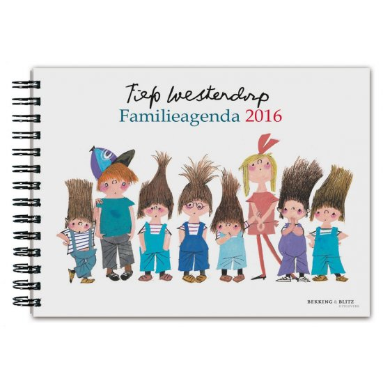 Fiep westerdorp familie weekagenda 2016 kantoorartikelen for Ariadne at home agenda 2017